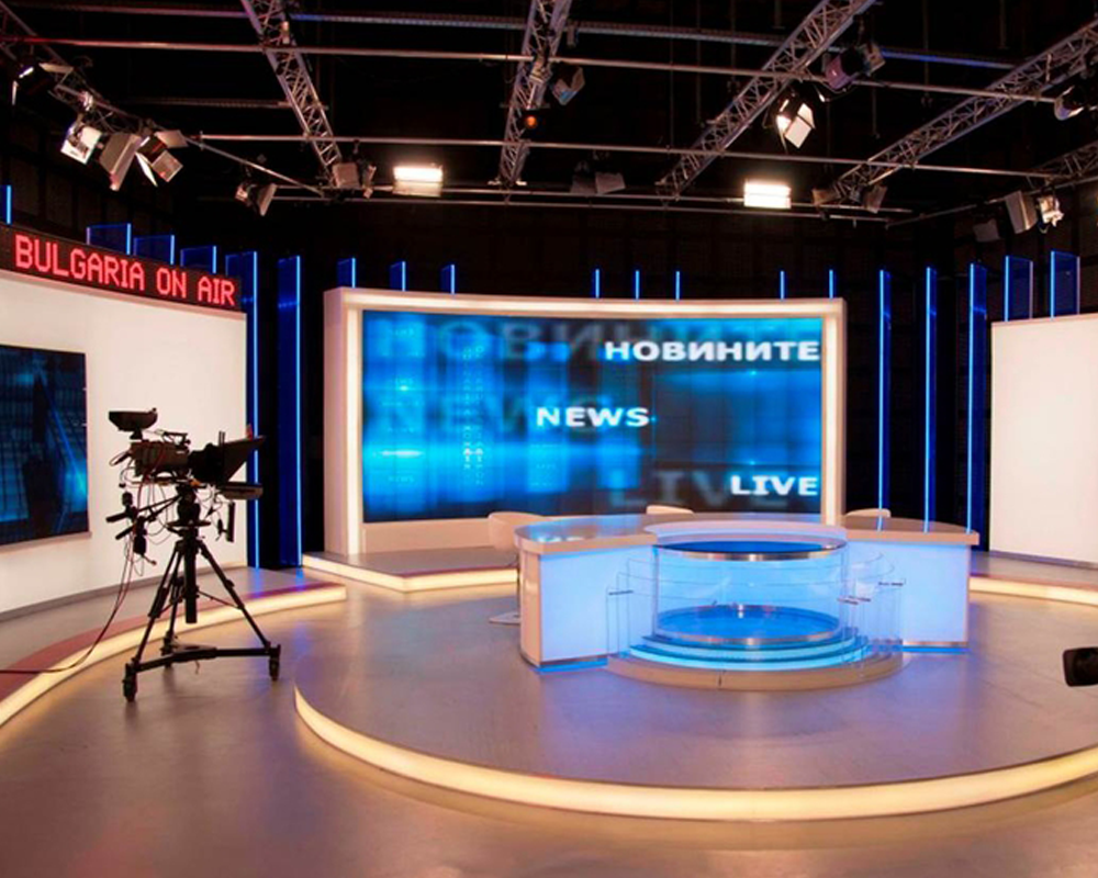 TV Studio On Air